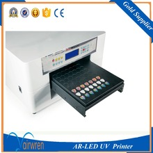 UV Flatbed printer a3 size indoor UV printer for plastic card phone case