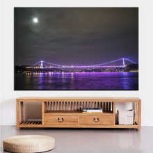 Large size Printing Oil Painting surface the purple light Wall painting Decor Wall Art Picture For Living Room painting No Frame