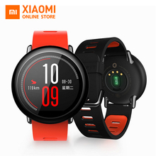 Original Xiaomi Huami Amazfit Strap Smart Watch English Version GPS Sports Bluetooth 4.0 Wifi MI Heart Rate Monitor Waterproof(China)