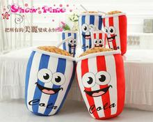 Cartoon Coke Cup Plush Toy Cushion Pillow Good Kid Gift 2017 Factory Sale Cheap Price Free Shipping YH-30(China)