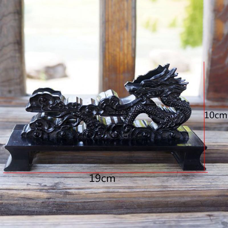 Black Dragon Holder Samurai Sword Katana Wakizashi Tanto Stand Display Small Siz