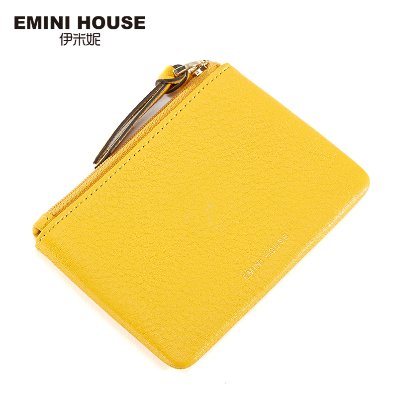 378a543783c2 Buy EMINI HOUSE Muti Colors Genuine Leather Women Coin Purse Mini Purses  Coin Wallet Fashion Women Purses Zipper Clutch Purse Online