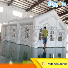 Factory direct commercial use pvc inflatable toys wedding tent with blower