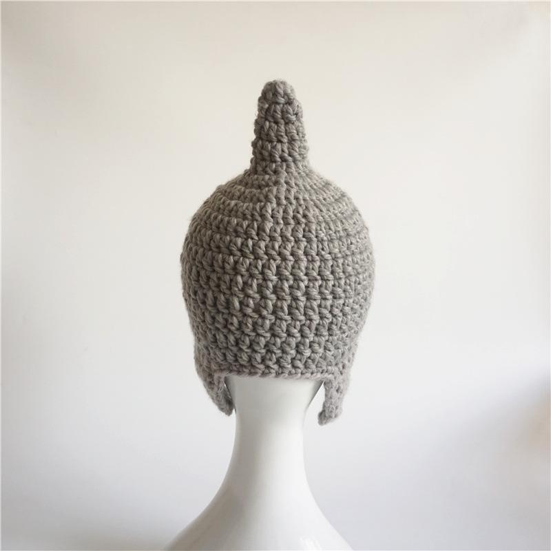 """""""Baby Shark"""" Shark Wool Hat for Children 5"""