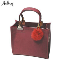 Aelicy pu leather zipper bag female fashion ladies women's purses and hand bags fake designer handbags crossbody bags for women(China)