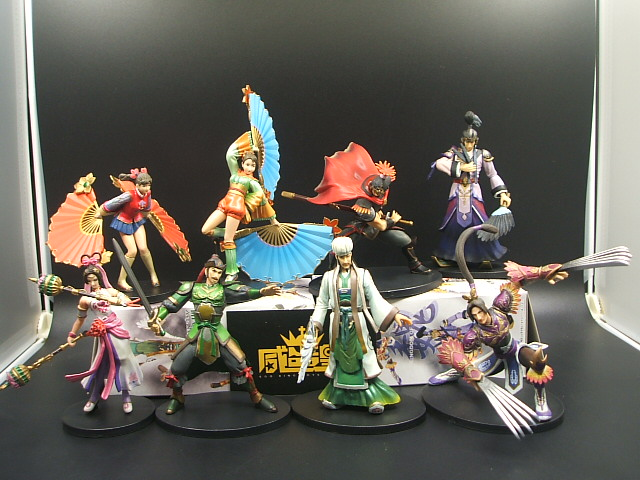 Toys 8pcs/set 2004 produced limited editionThree Kingdoms  figure   doll ornaments<br><br>Aliexpress