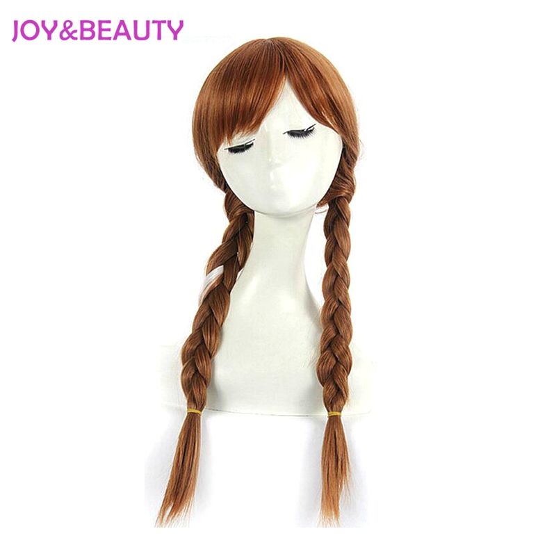 Synthetic Wigs Synthetic None-lacewigs Fei-show Inclined Bangs Hair Synthetic Heat Resistance Fiber Dark Brown Short Curly Children Wigs For 50cm Head Circumference Latest Technology