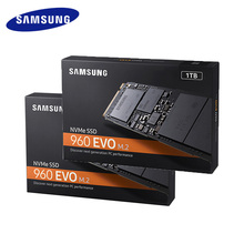 Samsung Internal SSD 960 EVO 1TB 2TB 250GB 500GB Solid State Hard Disk NVMe PCIe 3.0x4 NVMe 1.2 (partial) for Laptop PC Computer