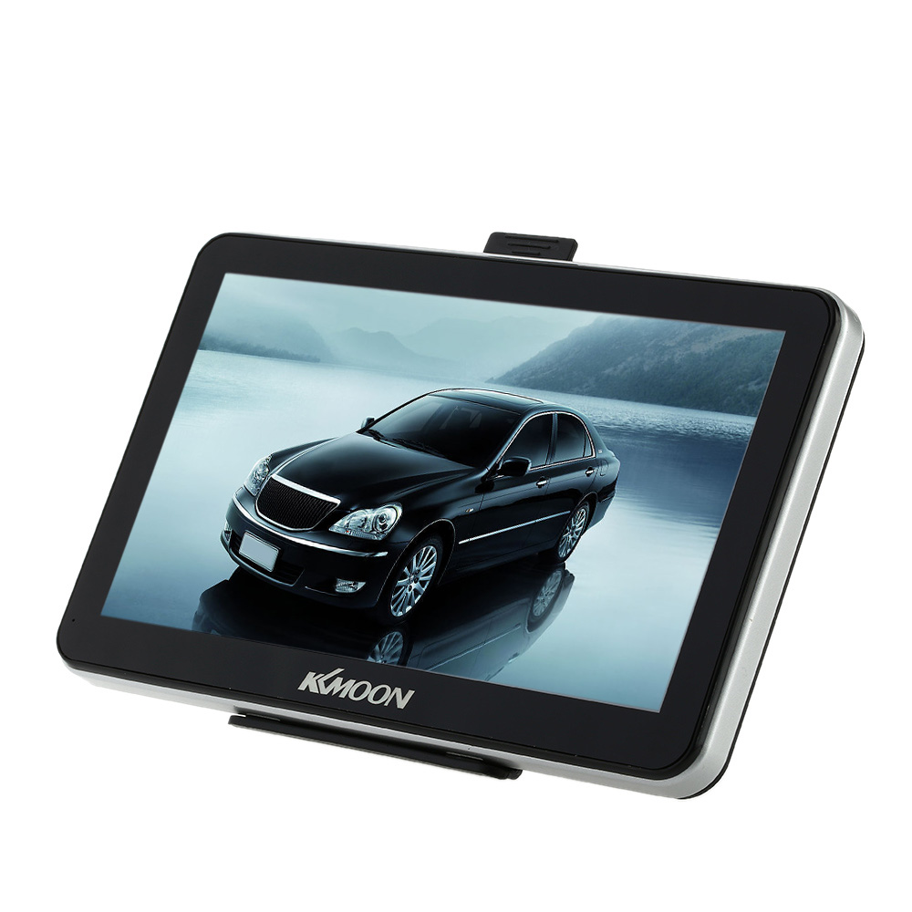 "US STOCK 7"" Portable HD Screen GPS Navigator 4GB ROM MP3 FM Video Play Car Entertainment System with Back Support +Free Map(China (Mainland))"