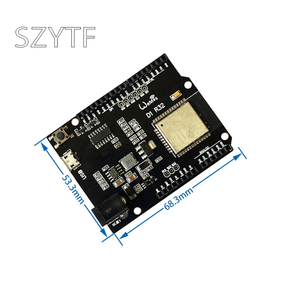 WiFi and Bluetooth esp32 4MB flash UNO D1 R32 for Arduino 1