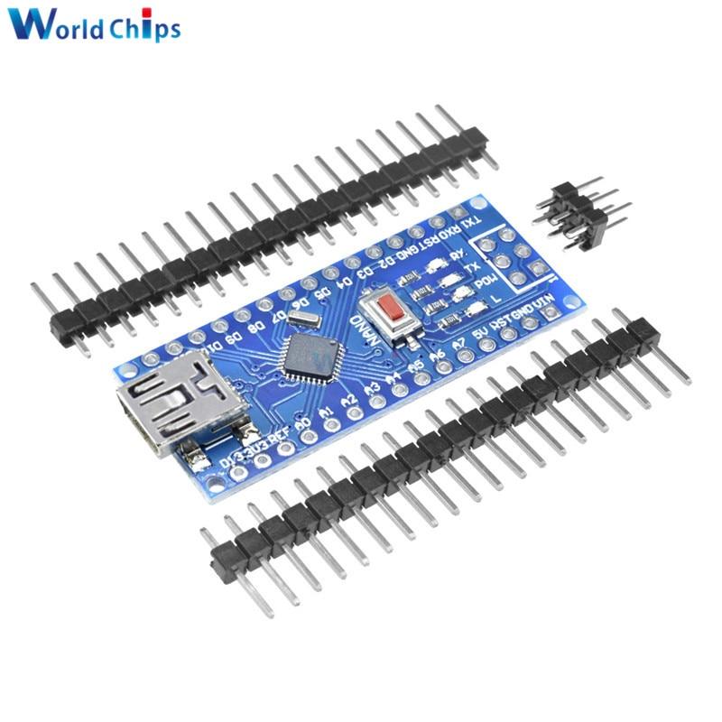 Nano V3.0 Mini USB ATmega328 5V 16MHz Micro-Controller CH340G Driver For Arduino