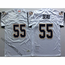 Mens 1984 Retro Junior Seau Stitched Name&Number Throwback Football Jersey Size M-3XL(China)