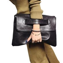 Buy 2017 New Fashion Women Envelope Clutch Bag Leather Women Crossbody Bags Women Trend Handbag Messenger Bag Female Ladies Clutches for $14.27 in AliExpress store