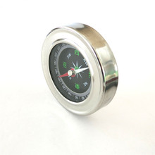 Brand New J464b Stainless Steel Shell Compass Teaching and Experiment Using Outdoor Camping Cross-country Life Sell at a Loss