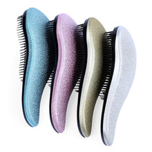 Charming Colors Eyecatching Hair Care Styling Hair Comb Beauty Healthy Styling Care Hair Comb Shower Massager Detangle Brush