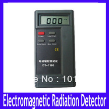 Electromagnetic Radiation Detectors EMF meter dosimeter tester DT-1130 radiation meter   2pcs/lot Free shipping