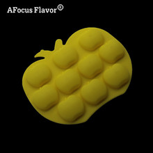 1 Pc Soft Candy Cake Decoration Silicone Mold Ice Grid DIY Chocolate Dessert Baking Apple Molding Handmade Soap Stencil