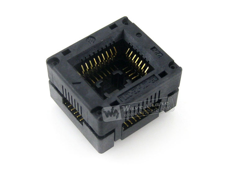 Modules Enplas IC Test Socket Adapter PLCC-32-1.27-30 1.27mm Pitch PLCC32 Package Free Shipping<br><br>Aliexpress