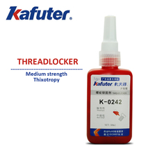 10pcs/lot K-0242 threadlocker Anaerobic adhesive Metal Thread The locking screw glue Thread Sealing Antirust Removable