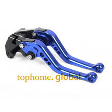 Blue For TRIUMPH TIGER 1200 EXPLORER 2012 - 2016 New Short Adjustable Clutch Brake Levers CNC Motorbike Accessories 13 14 15