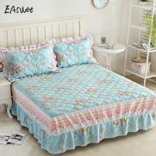 Pillowcase Comfortable Cotton Bed Seet King Queen Twin Size  FITTED SHEET Thicken Flat Bedsheet Bedspread High Quality Sheets