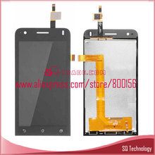 For Asus Zenfone C ZC451CG LCD Display Screen with Digitizer Touch Screen Full Set Black color free shipping(China)