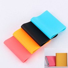 Original Soft Silicone 10400mah Power Bank Phone Protective Back Cover For Xiaomi Case Skin