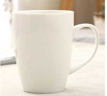 450ml ceramic mug, brief blank high quality mug, logo printing is available(China)