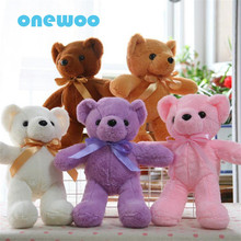 Colorful Ty Baby Beanies Teddy Bear Ty Stuffe Doll Software Sweet Plush Animal Toy Little Bear Appease Baby Doll Friends Present(China)
