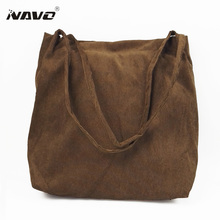 Women's Casual Handbag 2017 Vintage Warm Tote Bag Lady's Classic Shopping Bag Big Tote Travel single Shoulder Bag(China)