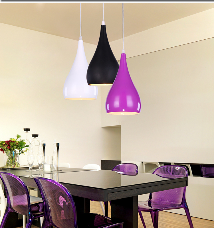 Modern three head / single head lamp simple creative personality Industrial Office pendant lamp dining pendant lights<br>
