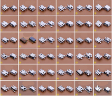 36 models 180pcs 5p 5pin mini micro usb jack connector charging port for opp HTC Milet Lenovo ZTE mobile phone tablet pc mid