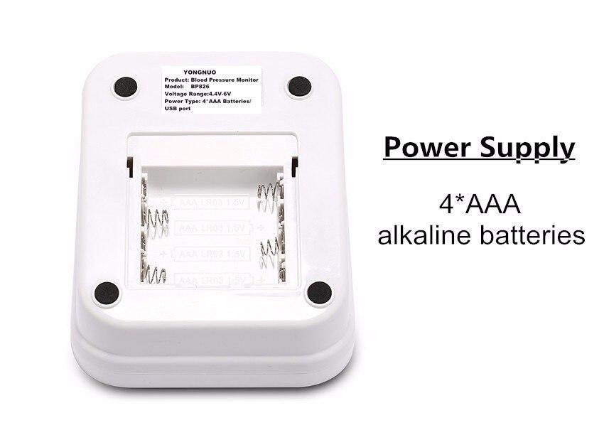 Digital Upper Arm Blood Pressure Pulse Monitor Household tonometer Portable Health Care Meter Sphygmomanometer medical equipment 12