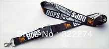 Hot 100pcs custom 20mm Logo text worlds Lanyard/ MP3/4 cell phone/ keychains /Neck Strap Lanyard WHOLESALE direct lanyard maker