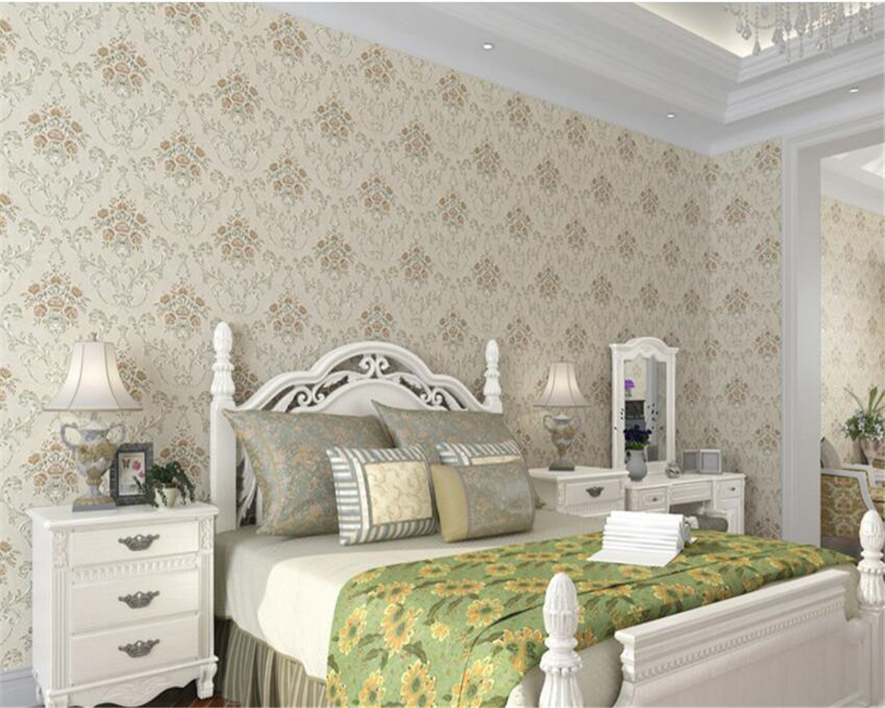 beibehang papel de parede American pastoral nonwovens deep embossed wallpaper background 3D relief retro 3d wallpaper wall paper<br>