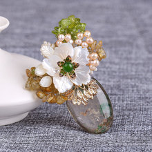 Crystal Dabie pin buckle Korea accessories female shawl clothes cardigan brooches corsage pin wholesale jewellery mix lots