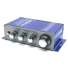 DC12V Direct current Car-Amplifier mini-amplifier mini-Power amplifier High-power with Power supply and audio cable(China)