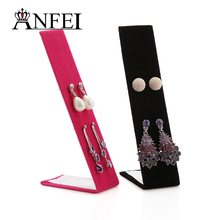 ANFEI 19 Style 10 Pieces/Lot Acrylic Hairband Holder Fashion Hair/Pendant/Necklace/Watch/Ring Jewelry Display Shelf  Organizer
