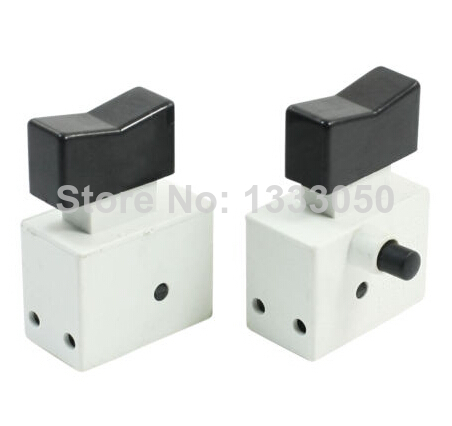 Free Shipping 2x FA2-4/2B2 Spare Parts Optional Locking DPST 2NO Electric Drill Trigger Switch<br><br>Aliexpress