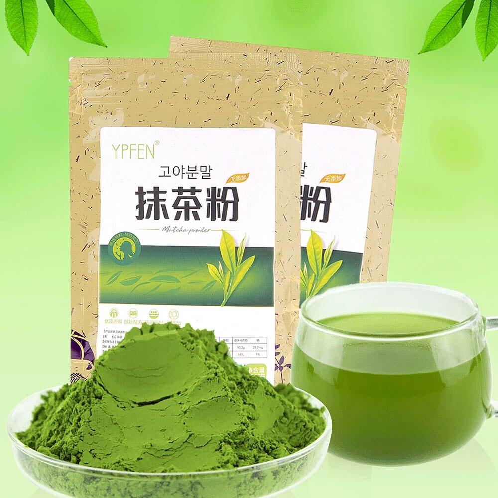 groene thee poeder afvallen