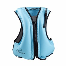 Rrtizan Adult Inflatable Swim Vest Life Jacket For Snorkeling,Suitable For 80-220lbs(China)