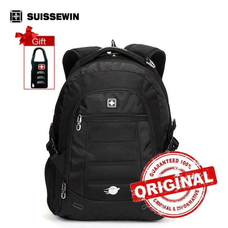 Suissewin Brand School Bags Backpack Swisswin Nylon Boys Girls Backpack Sac a dos Male Mochila Bagpack Bag sn9303<br>