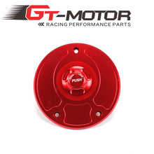 GT Motor - Motorcycle New CNC Aluminum Fuel Gas CAPS Tank Cap tanks Cover With Rapid Locking For KAWASAKI  ZZR1200 ZRX1200R
