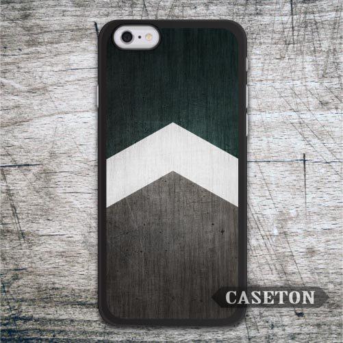 Green Wood Arrow Classic font b Case b font For font b iPhone b font font