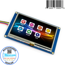 "4.3"" English Version Nextion Basic HMI Intelligent Smart USART UART Serial Touch TFT LCD Module Display Panel for Raspberry Pi(China)"