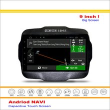 Car Android GPS Navigation System For Jeep Renegade 2015~2016 - Radio Stereo Audio Video Multimedia ( No DVD Player )
