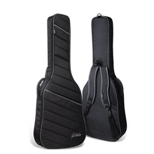 Free shipping 2017 new quality electric guitar package, electric bass bag, compression damping electric guitar bag(China)