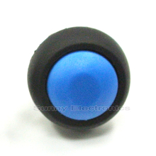 100Pcs 12mm Waterproof Momentary ON/OFF Push Button Mini Round Switch(China)