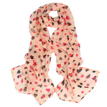 New Scarf Women Love Heart Soft Long Shawl Scarf Wrap Stole For Womens Girls Scarves And Stoles Women Winter Scarf Luxury Brand