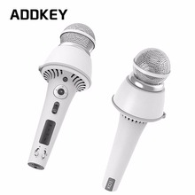 ADDKEY 2017 New MO3 smart Bluetooth Karaoke microphone Professional Player speaker mobile KTV for Android iOS phone APP